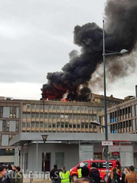 Франция. В университете Лиона прогремела серия взрывов, после чего начался пожар | Русская весна