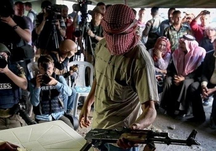 Бывшие боевики примиряются с правительством Сирии и вступают в ряды Сирийской арабской армии
