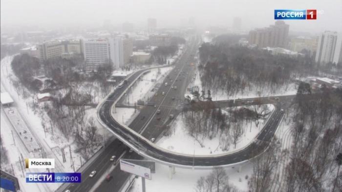 В Москве открыли новую эстакаду, заторов теперь станет меньше