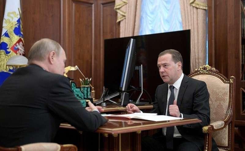 Встреча сПредседателем Правительства Дмитрием Медведевым