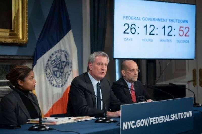 В Нью-Йорке через 5 недель начнется голод – заявил мэр города
