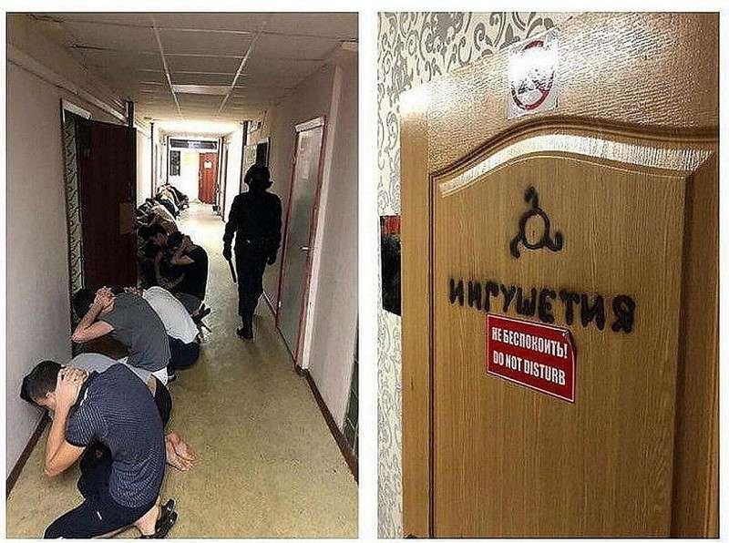 17 декабря после очередного ЧП в общежитие РГГРУ нагрянули сотрудники Росгвардии. Тогда задержали 16 студентов с Северного Кавказа. Фото: СОЦСЕТИ