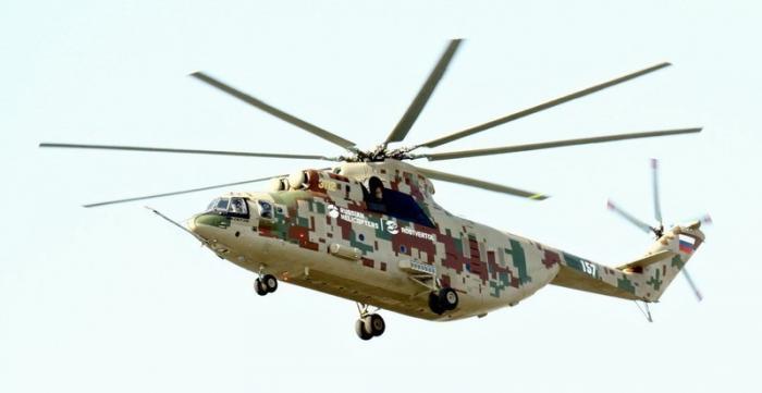 Вертолёт Ми-26Т2В завершил предварительные испытания