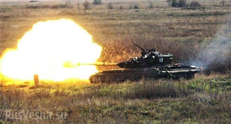 Сводка о военной ситуации на Донбассе: по ДНР стреляют танки