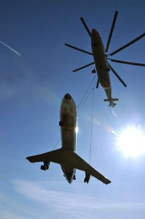 Ми-26Т: рекордсмен погрузоподъемности