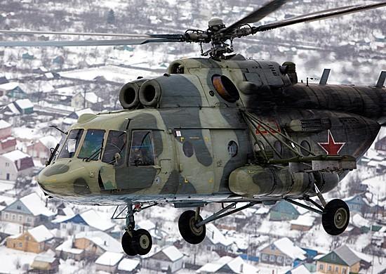 ВВКС поступила партия новейших вертолетов Ми-8АМТШ