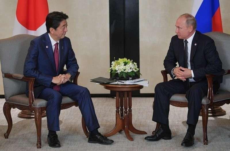 Мирный договор с Японией: Синдзо Абэ полон решимости добиться завершения переговоров добиться завершения переговоров по мирному договору