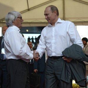 Владимир Путин приехал на российский этап чемпионата мира «Формулы-1» в Сочи