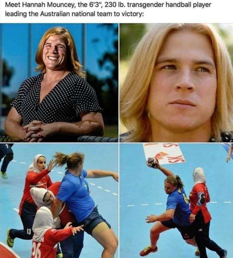 Трансгендеры в спорте: баба-мужики вытесняют нормальных женщин из спорта