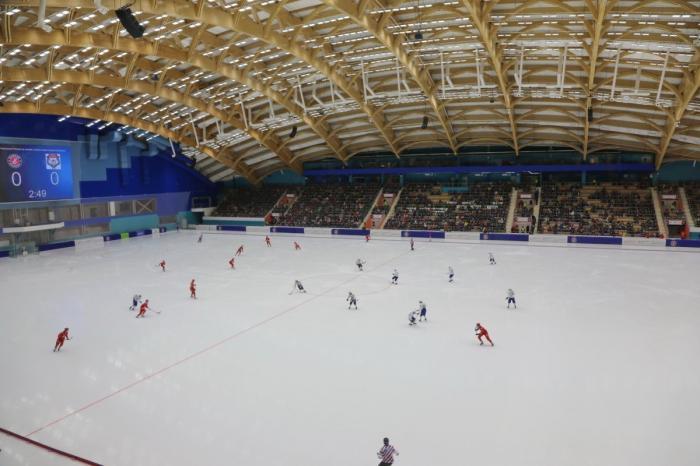 Красноярск. Открылся обновлённый стадион «Енисей»
