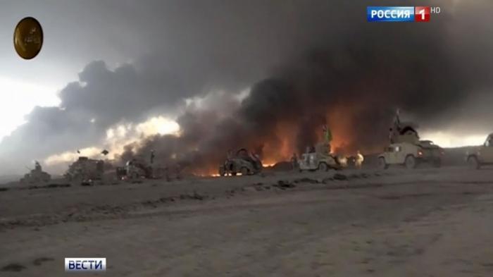 В Сирии атаковали колонну американских и курдских военных