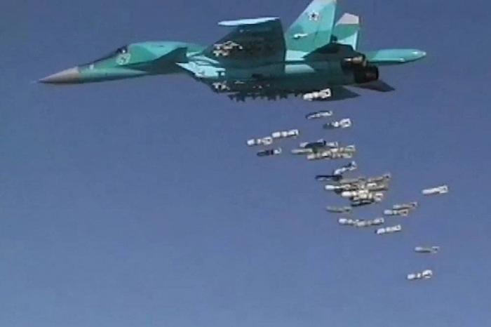 Сирия. ВКС России нанесли удар по штабу американских наёмников в Идлибе