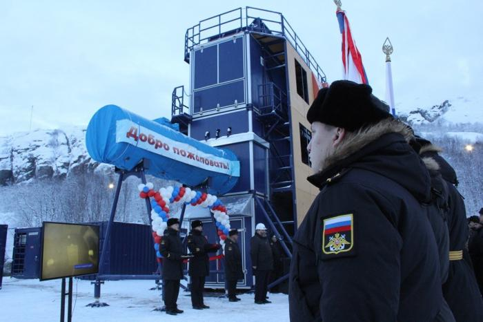 Мурманск. Открыт комплекс для подготовки морского спецназа