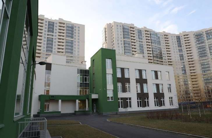 ВСанкт-Петербурге открылась новая начальная школа