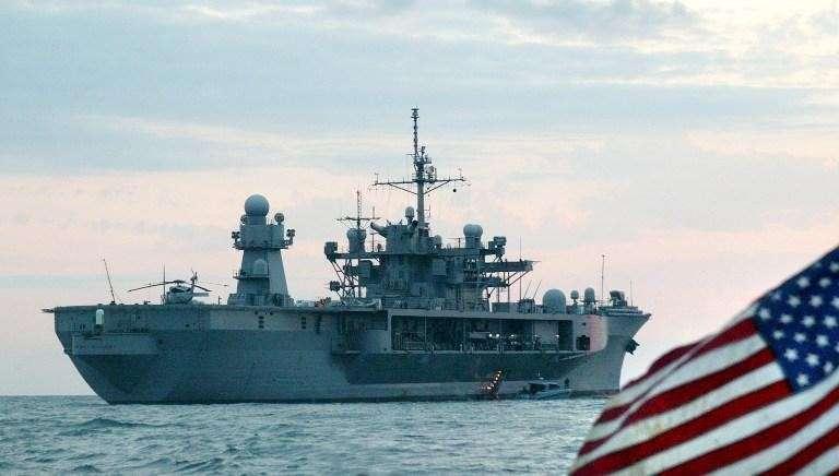 В акваторию Чёрного моря вошли два американских военных корабля