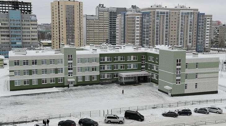 Новая школа на550 мест открылась вБарнауле