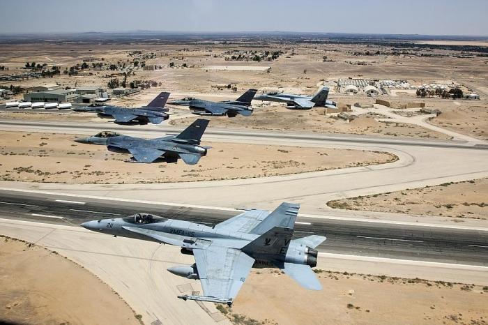 ВВС США и союзников атаковали мирных сирийцев