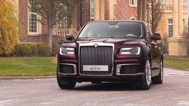Как в России создаются элитные автомобили AURUS проекта «Кортеж»