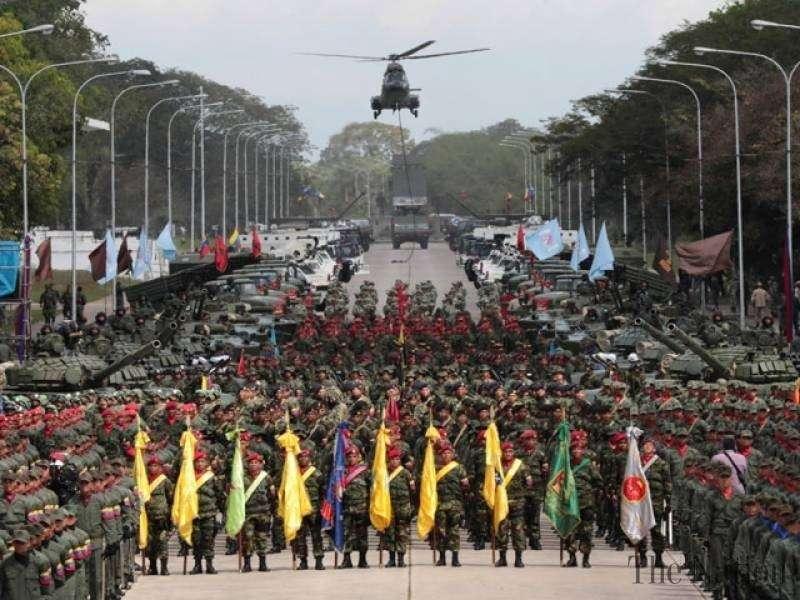Армия Венесуэлы – на стороне Мадуро