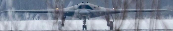 Ударный беспилотник «Охотник» – фотография попала в Сеть