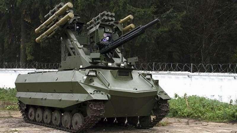 Боевой робот «Уран-9» приняли навооружение российской армии