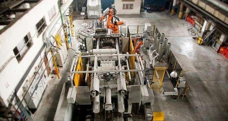 Завод «РосАЛит» изНижегородской области внедрил современную технологию плавки иразливки металла