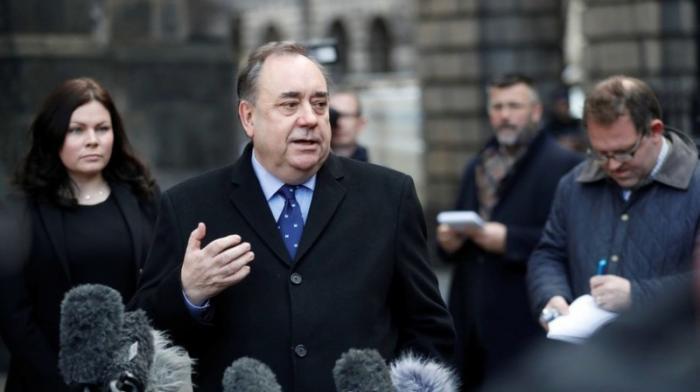 В Британии арестовали ведущего RT и бывшего главу правительства Шотландии Алекса Салмонда