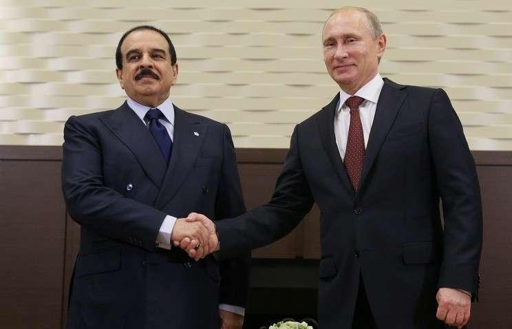 Президент России и король Бахрейна провели переговоры в Сочи