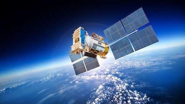 Космический спутник Земли. Архивное фото
