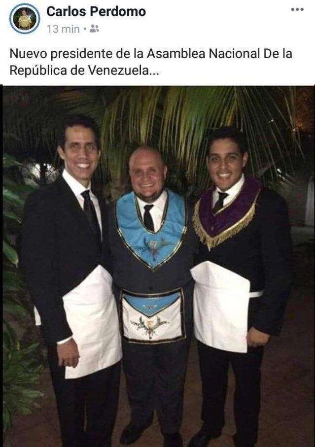 Переворот в Венесуэле. Масон Гуаидо рвётся к власти!