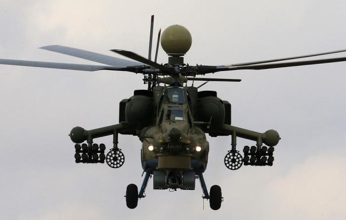 «Вертолёты России» передали военным 4 новых Ми-35М и2 «Ночных охотника» Ми-28УБ