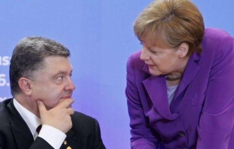 Порошенко обсудил с Меркель планы по фальсификации выборов президента Украины в 2019