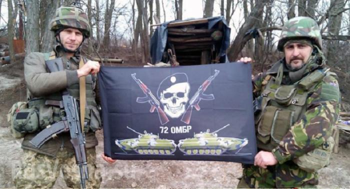 72-я бригада ВСУ за год войны на Донбассе лишилась половины личного состава
