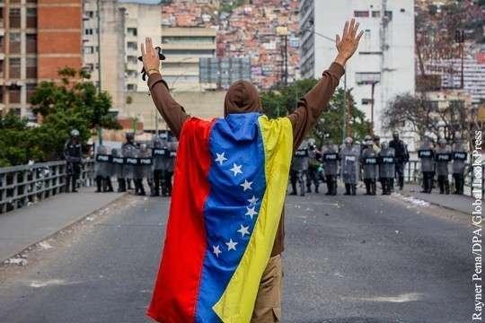 Песков назвал главную опасность переворота в Венесуэле