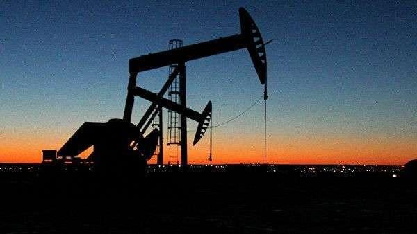 Место добычи нефти в Северной Дакоте
