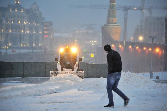 Снегопад в Москве стал самым мощным за 68 лет