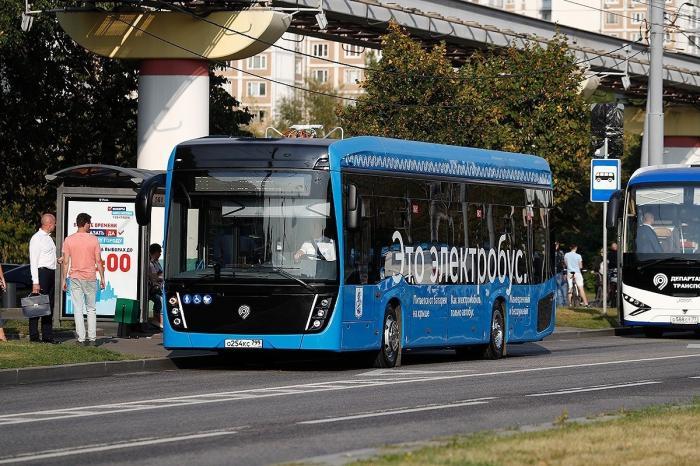 КАМАЗ выиграл тендер напоставку для Москвы 100 электробусов