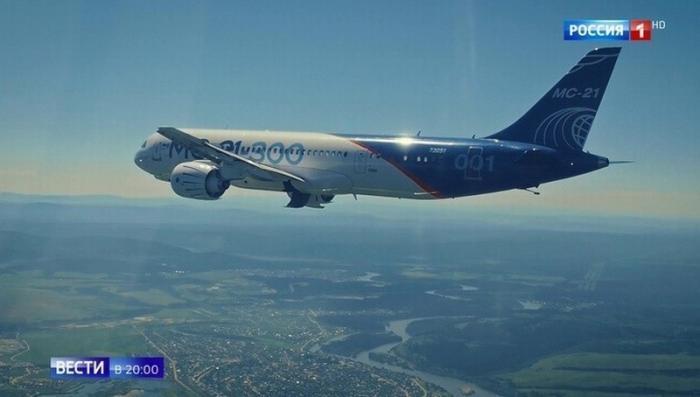 МС-21 вытеснит из неба России Boeing и Airbus