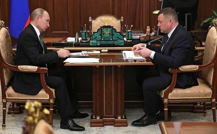 Сглавой администрации Тамбовской области Александром Никитиным.