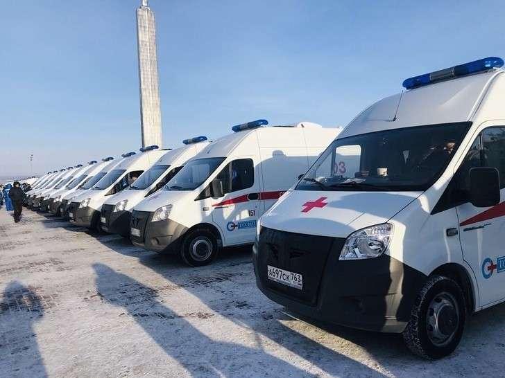 Самарская область получила 23 автомобиля скорой помощи