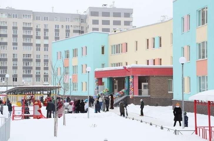Детский сад на195 мест открыт вСанкт-Петербурге