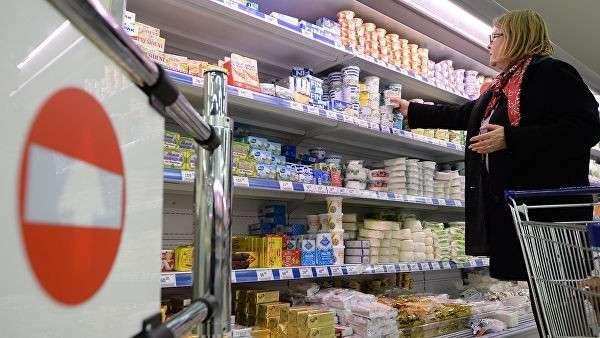 Покупатель в супермаркете