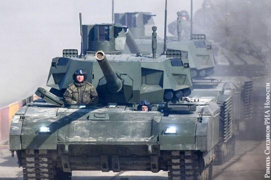 Где обещанные ВПК России сотни таков Т-14 Армата?