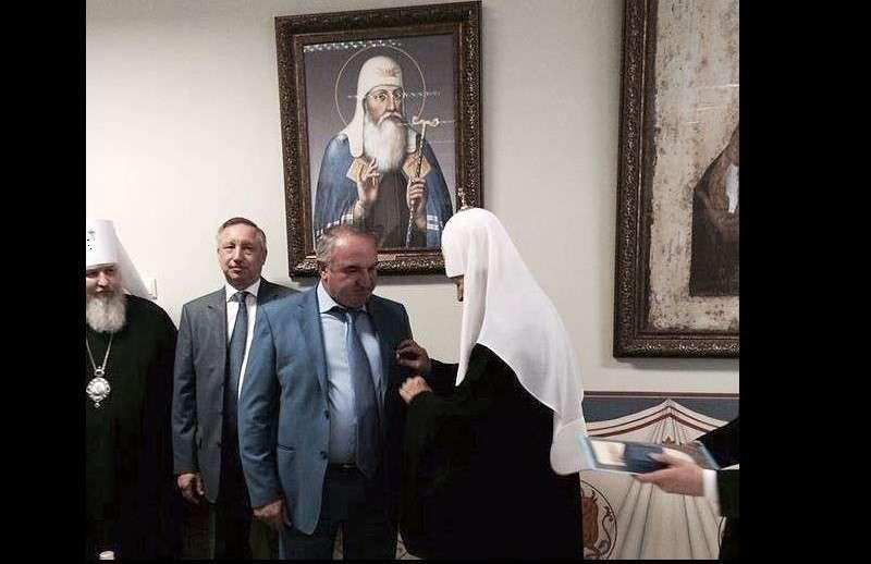 Бандит Арашуков был награжден орденом РПЦ за благотворительность