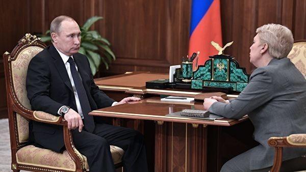 Владимир Путин встретится с главой Минпросвещения Васильевой