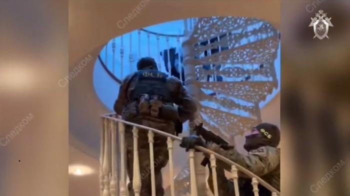 Следственный комитет России опубликовал видео обысков в особняке по делу Арашуковых