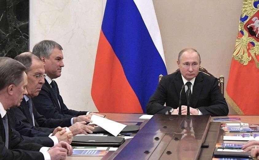 Владимир Путин обсудил с постоянными членами Совета Безопасности ситуацию в Венесуэле