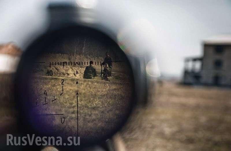 Сводка о ситуации на Донбассе: инструкторы НАТО готовят на Украине «элитных убийц»