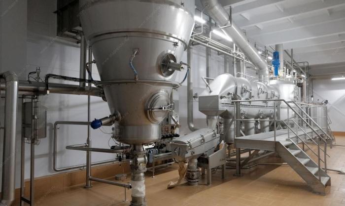Первое вРоссии производство лактозы запустили вСтаврополье на молочном комбинате «Ставропольский»