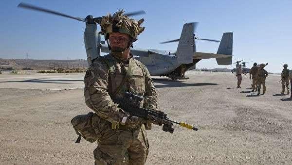 Британский солдат в Афганистане. Архивное фото